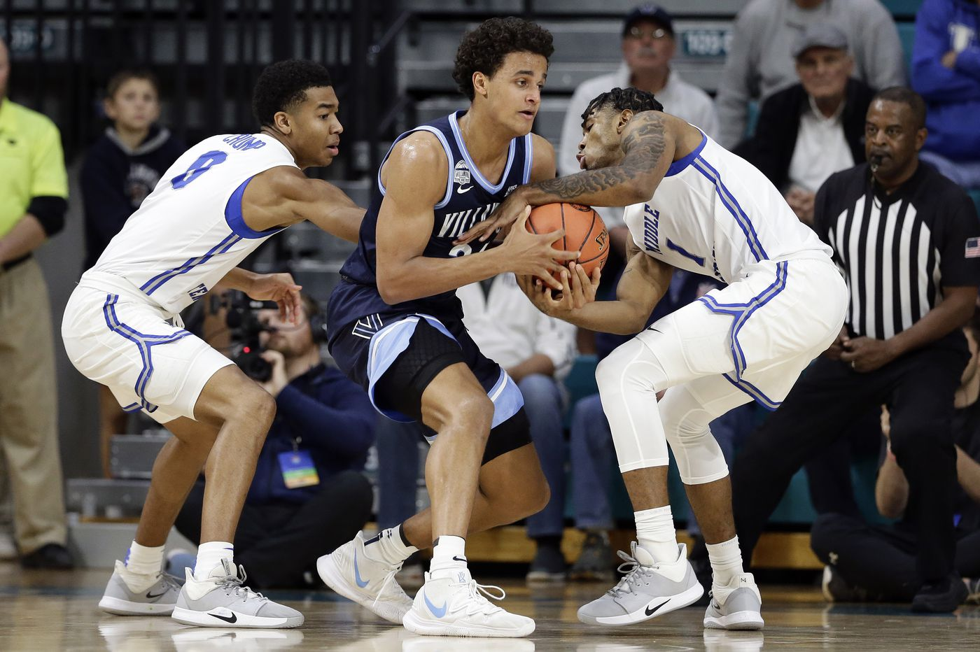 Villanova 98, Middle Tennessee 69: Wildcats begin S.C. tourney with easy win