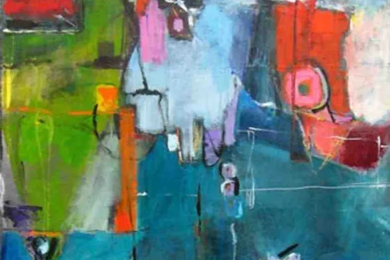 Her paintings were influenced by the likes of De Kooning and Matisse, she wrote.