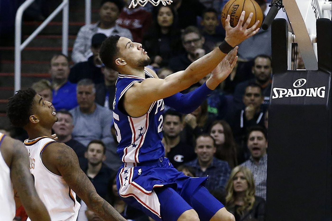 Sixers hold off Suns, Joel Embiid hurts hand but X-Rays come back negative