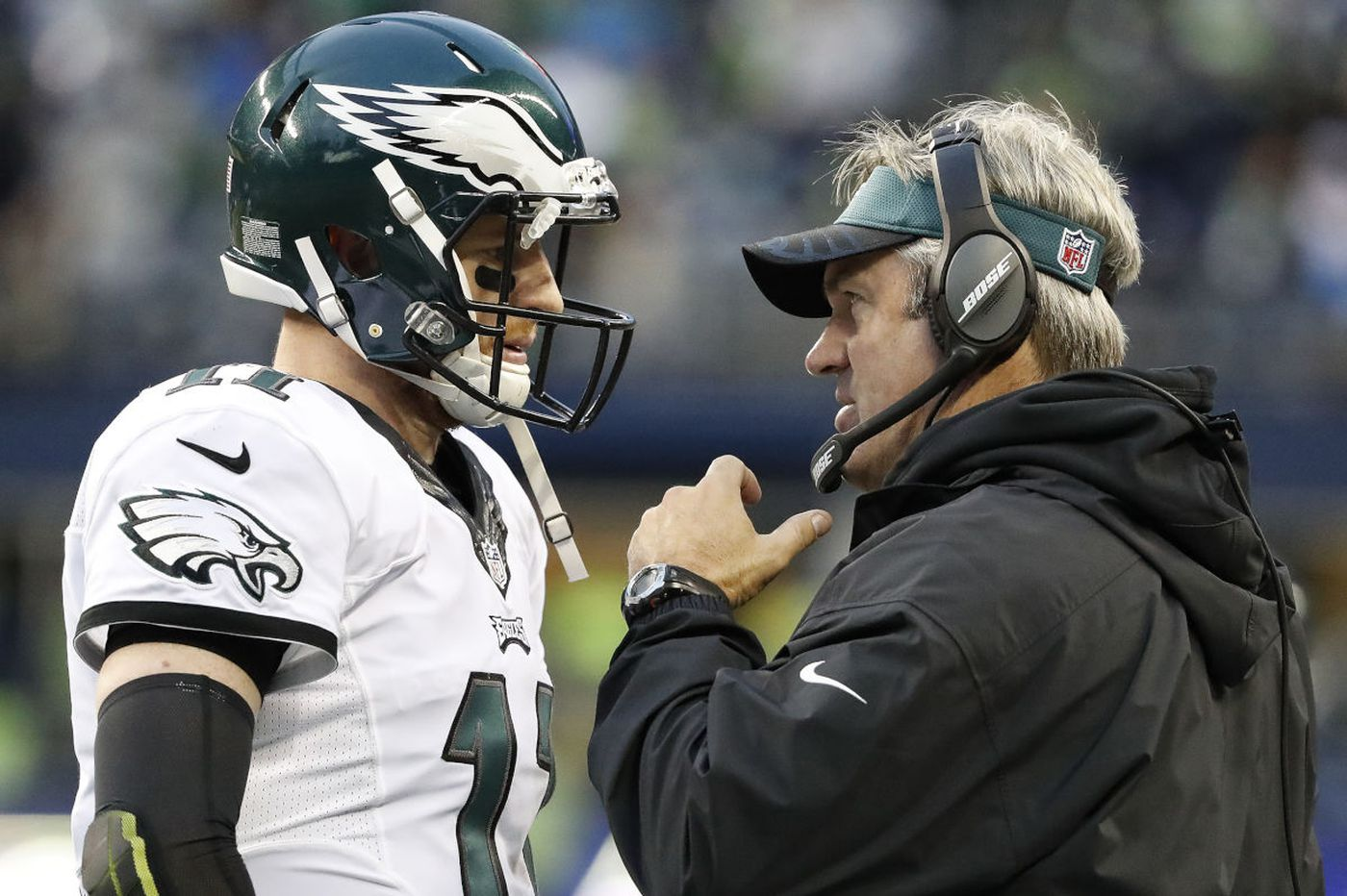 Smallwood: Pederson needs the Eagles to 'man up'