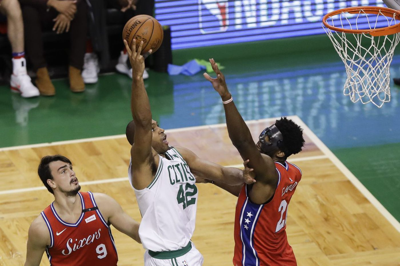Sixers' Joel Embiid: 'We didn't stick to the game plan' in Game 1 vs. Celtics