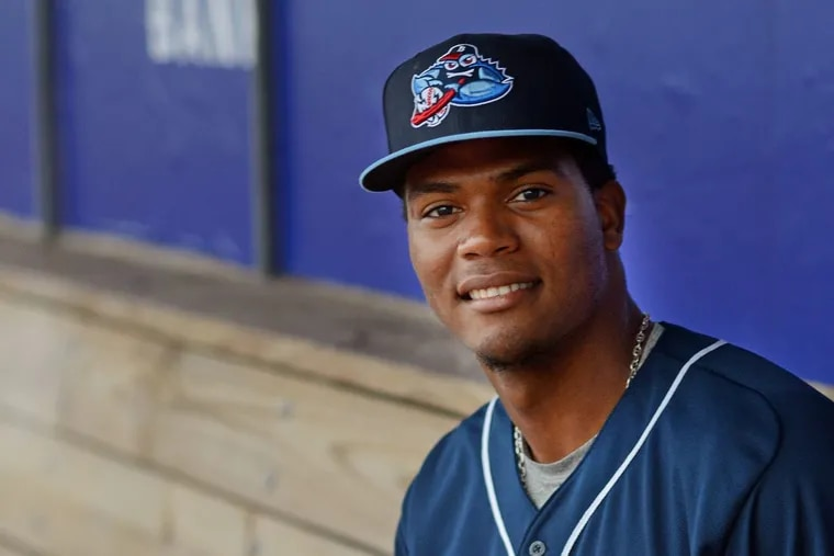 Lakewood Blueclaws righthander Ramon Rosso has a league-best 0.93 ERA after seven starts this season.
