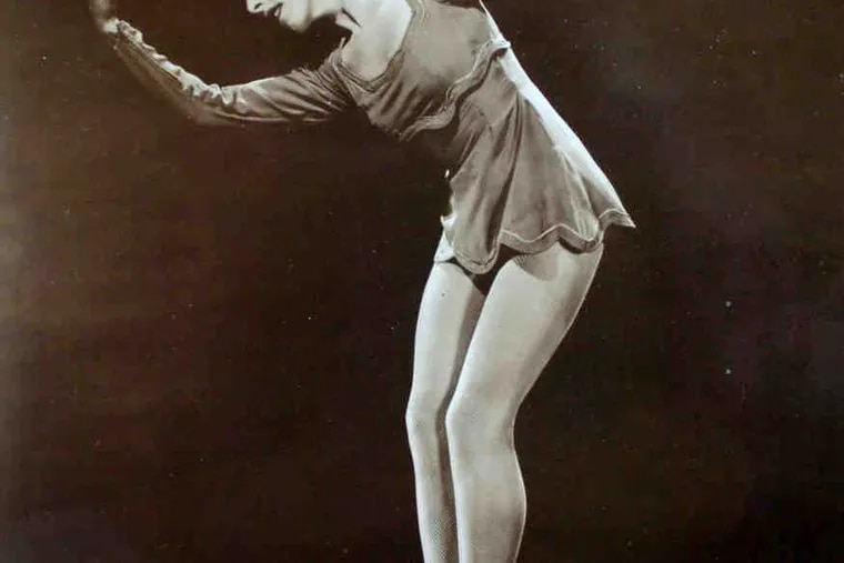 The ballerina in the 1930s. After her stage career, she taught all over the world and then for decades for the Pennsylvania Ballet.