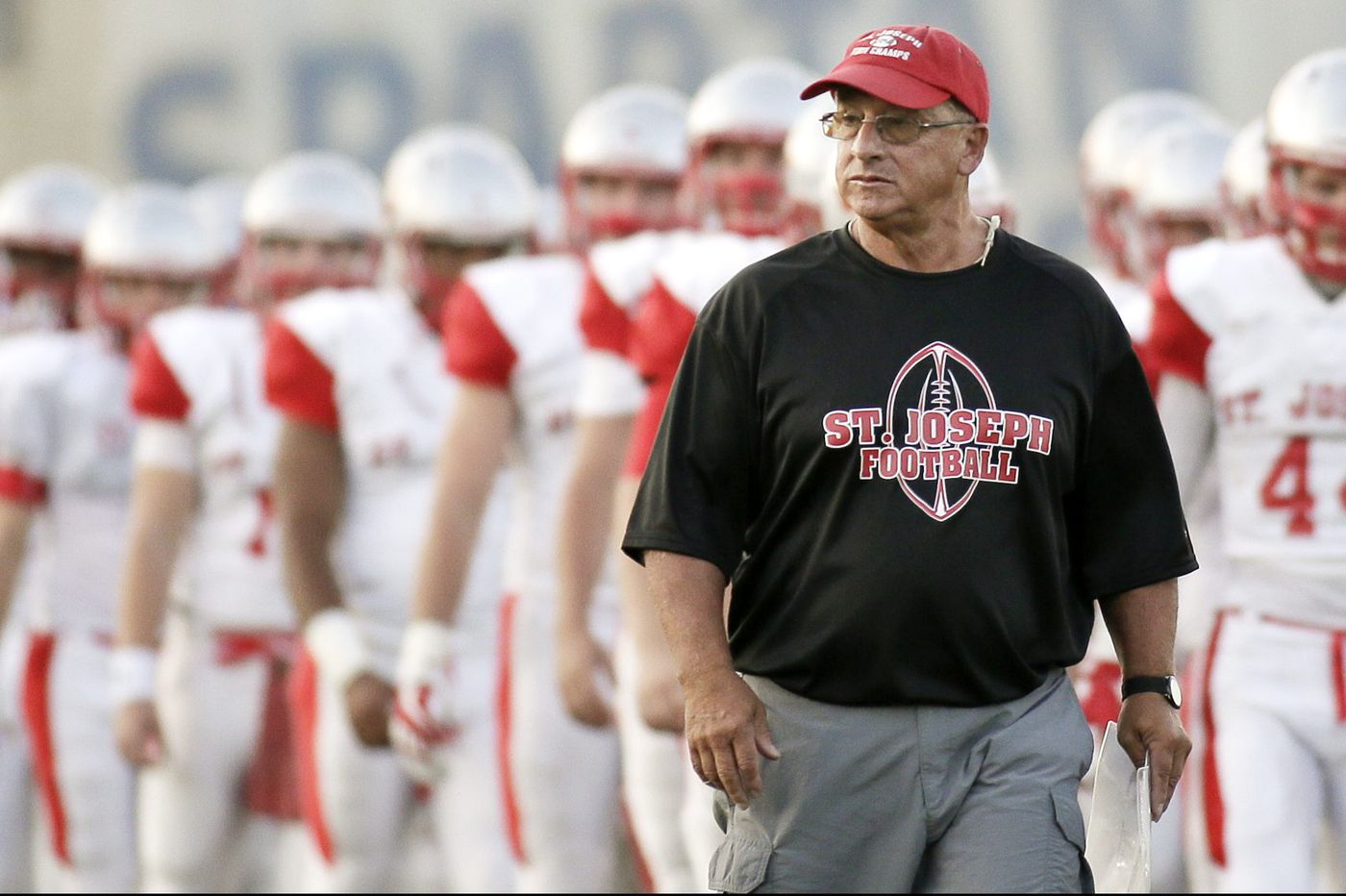 St. Joseph looks to finish strange football season in familiar fashion: with state title