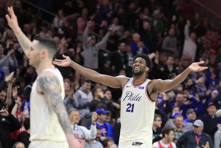 Before each game, the Sixers receive a 10-page dossier that analyzes the best ways to exploit their opponent's tendencies. The analytics team has fueled a meteoric rise from 10 wins in the 2015-16 to 52 wins and a 3-seed in the NBA Playoffs this year — and everyone, from the coaching staff to the players, has bought in.