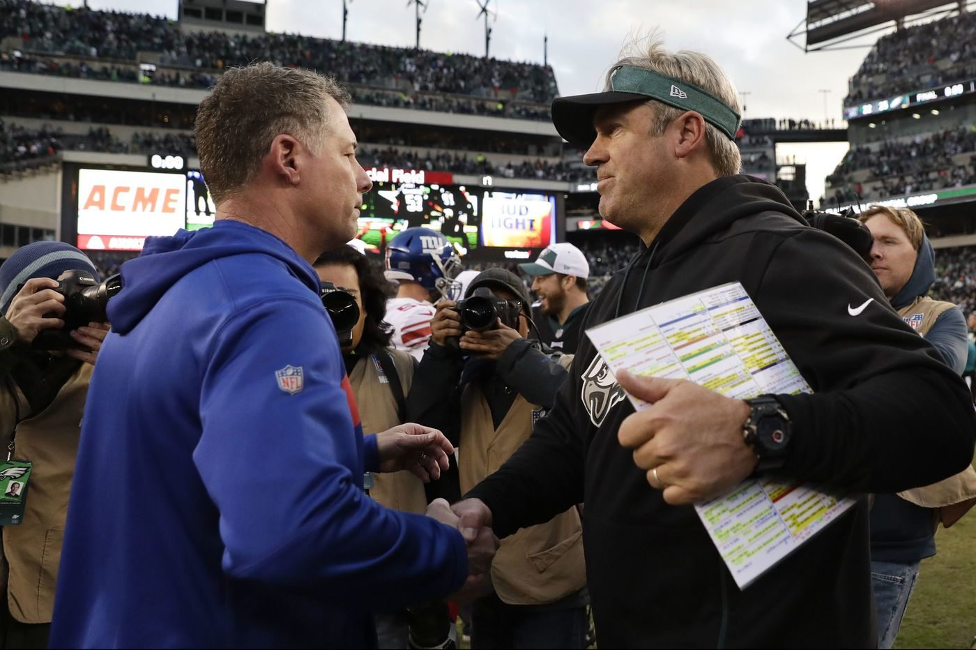 Doug Pederson on Eagles' win over Giants: 'Our veteran players really stepped up'