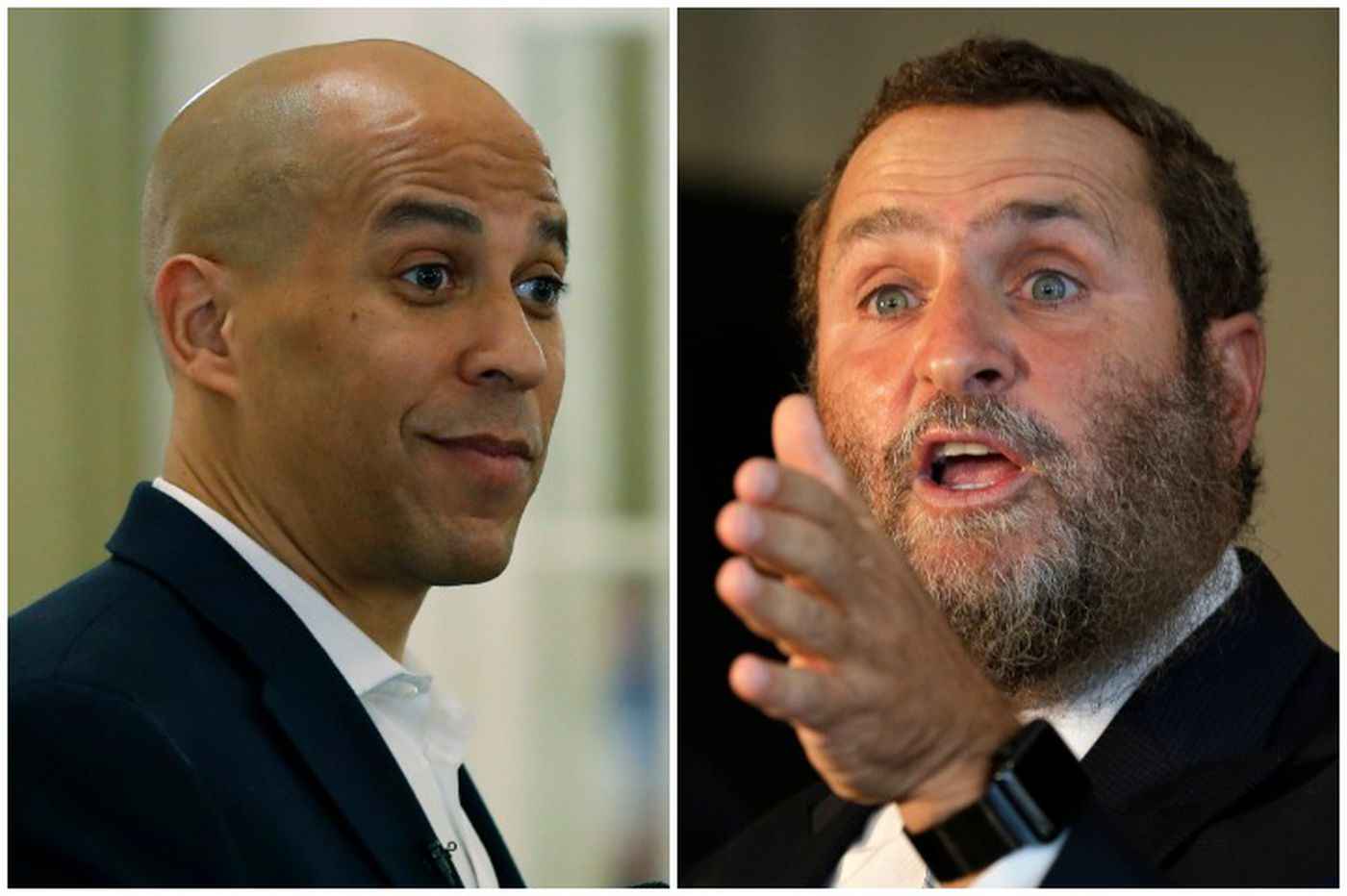 Cory Booker and an Orthodox rabbi were like brothers. Now they don't speak.