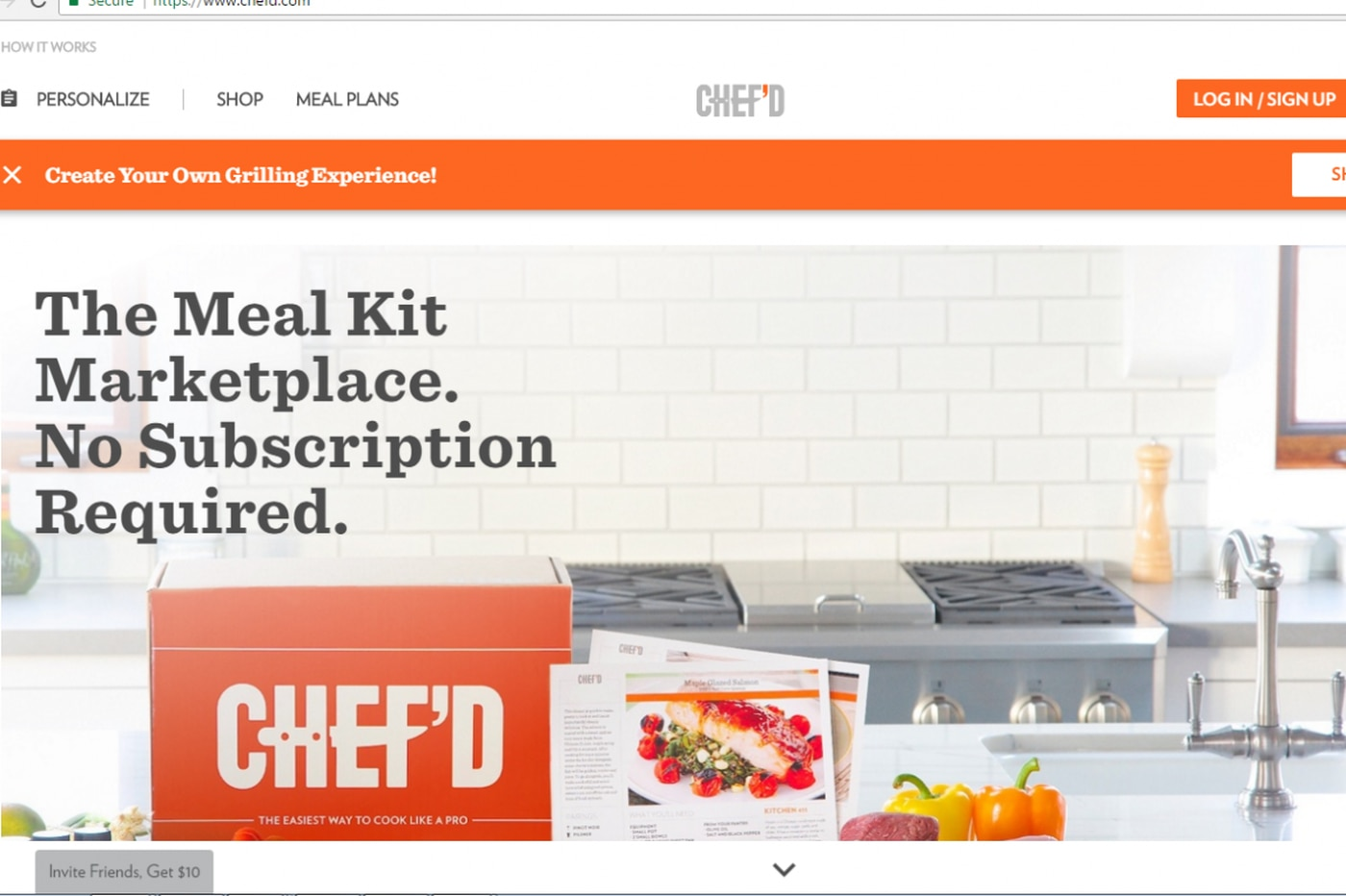 Campbell Soup invests $10M in online meal-kit firm