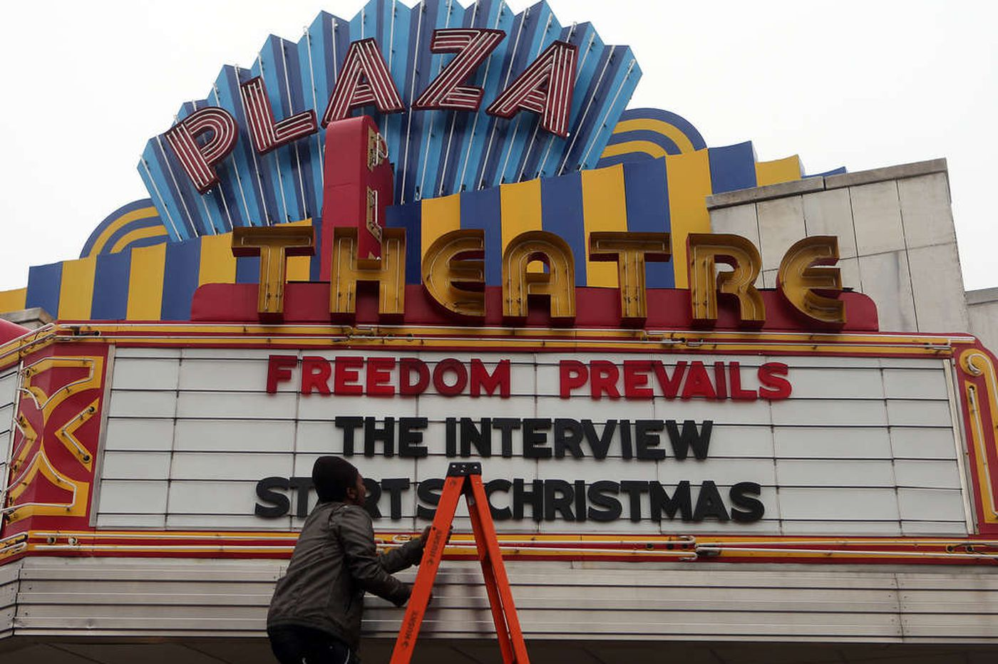 'Interview' plays on hundreds of screens
