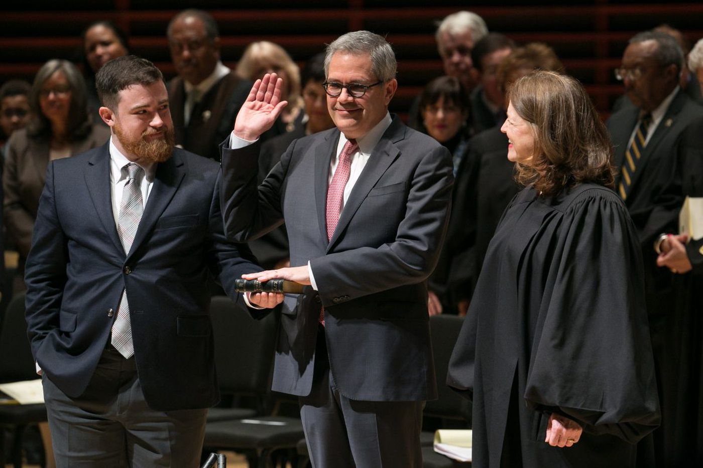 Krasner becomes Philly DA: 'A movement was sworn in today'