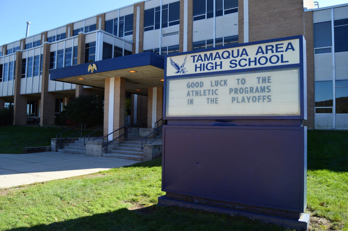 Union sues Tamaqua school district over armed teachers policy