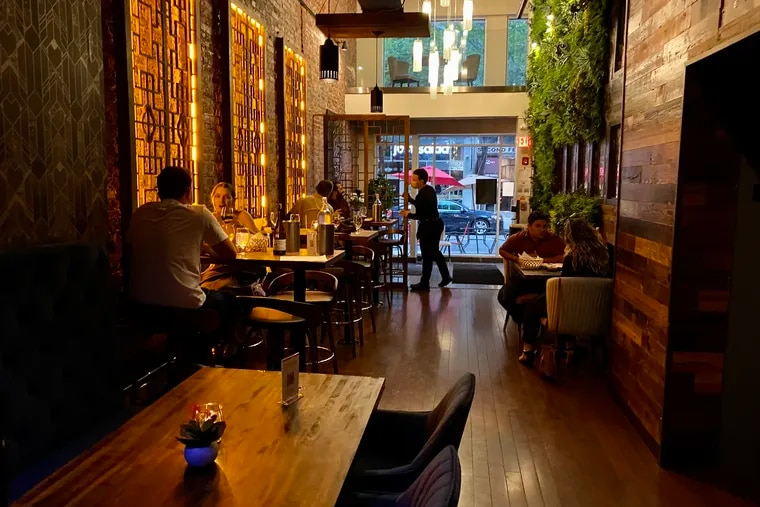 Ancient Spirits & Grille, 1726 Chestnut St., specializes in Ayurvedic-style dining.