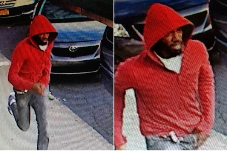 Haverford Township Police say the man seen in this photo is suspected of shooting and killing 29-year-old John Le, of Narberth, on July 29, 2017.