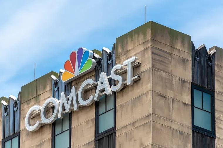 Comcast sign atop a building in Orlando, Fla. (Manuel Machado/Dreamstime/TNS)