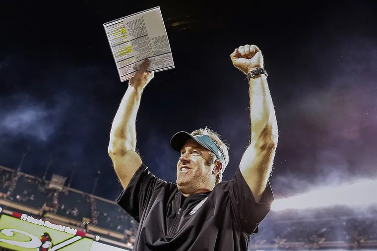 Eagles head coach Doug Pederson.