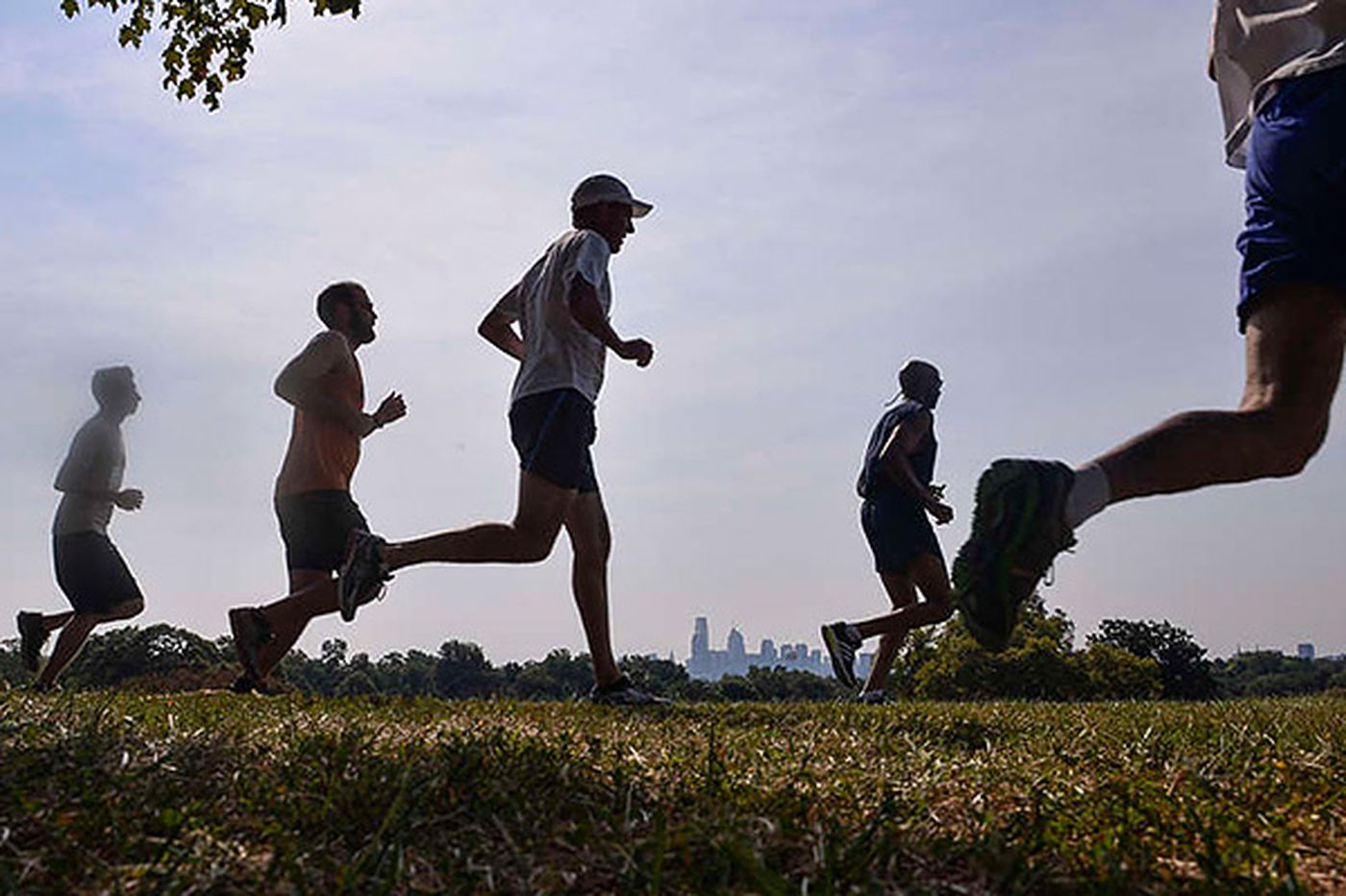 Spruced-up Belmont Plateau running course still has killer hill