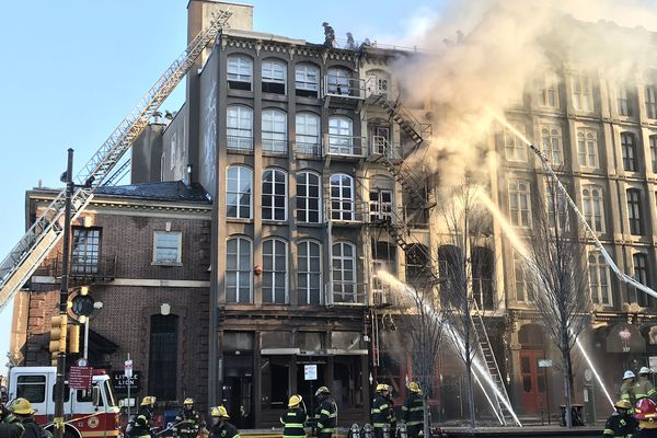 Massive Old City fire was 'incendiary,' ATF says