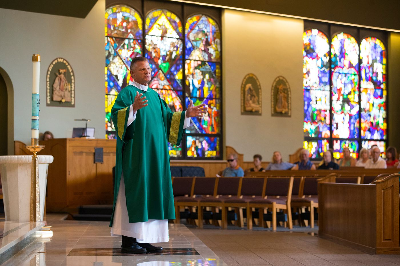 Former NBA referee Steve Javie goes from the hardwood to homilies, becoming a Catholic deacon