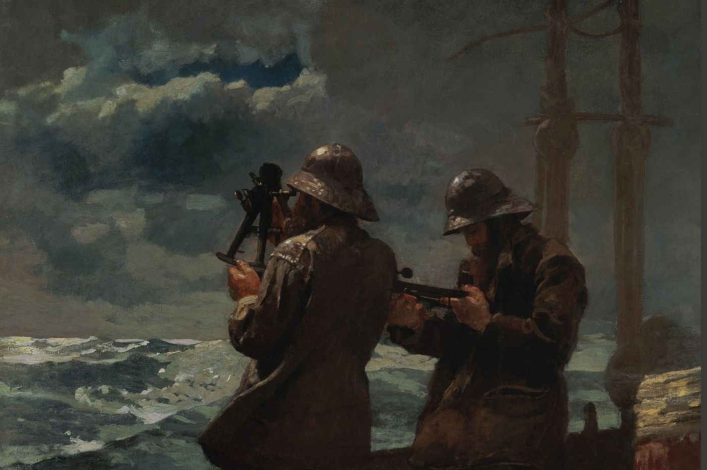 Winslow Homer and the camera at Brandywine: Less than meets the eye