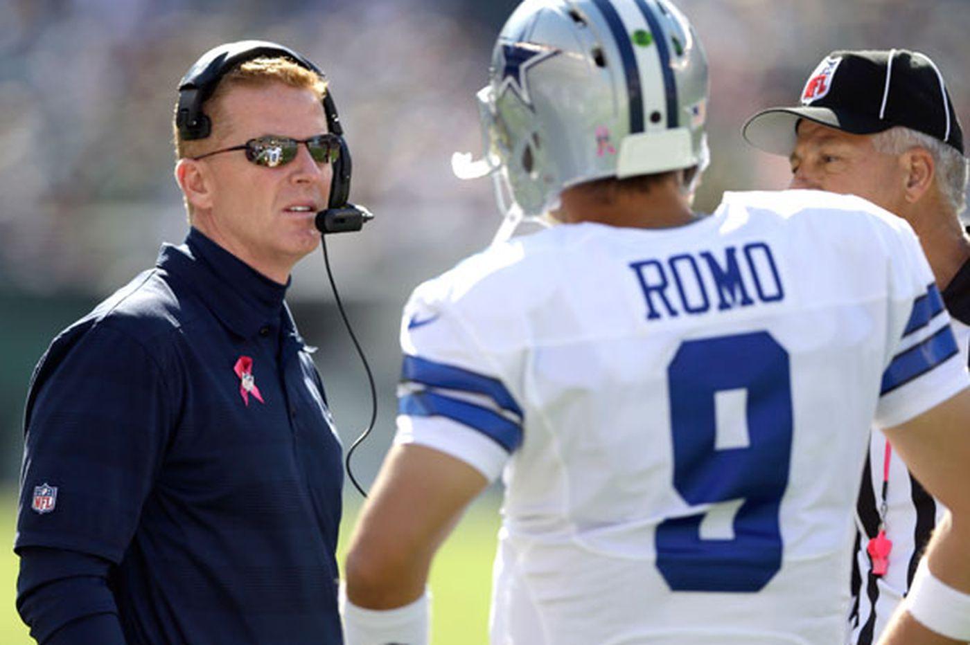 Garrett dances around Romo question