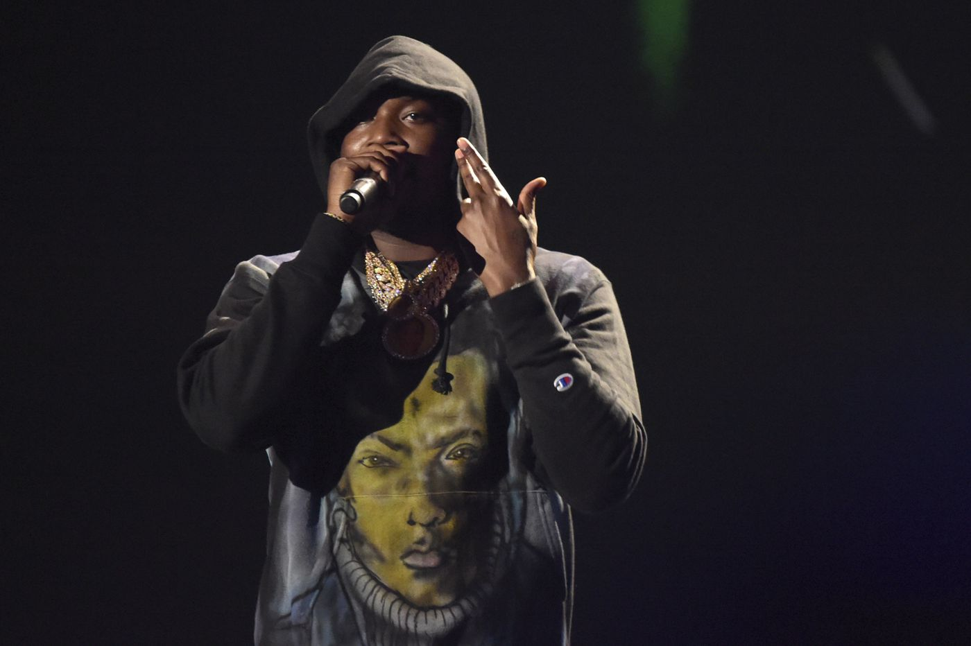 Meek Mill debuts first new song since release from prison, 'Stay Woke,' at BET Awards