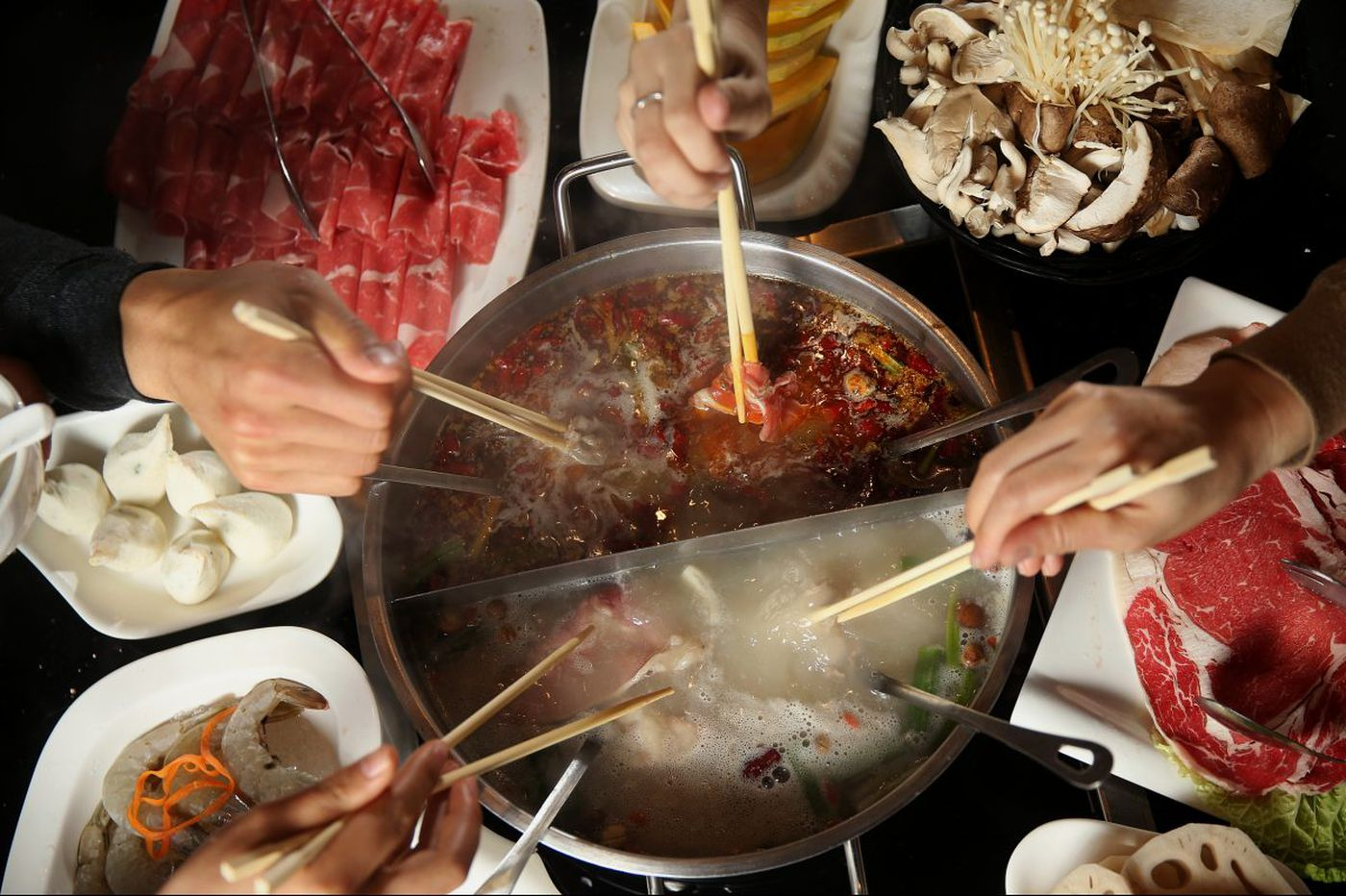 Warming up to Chinese hot pot at Little Sheep