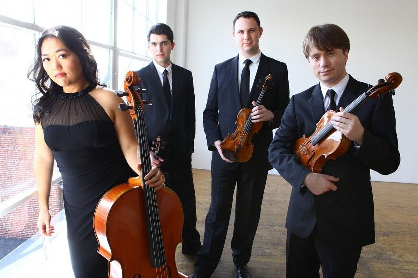 Calidore String Quartet makes gorgeous Philadelphia debut in Caroline Shaw works