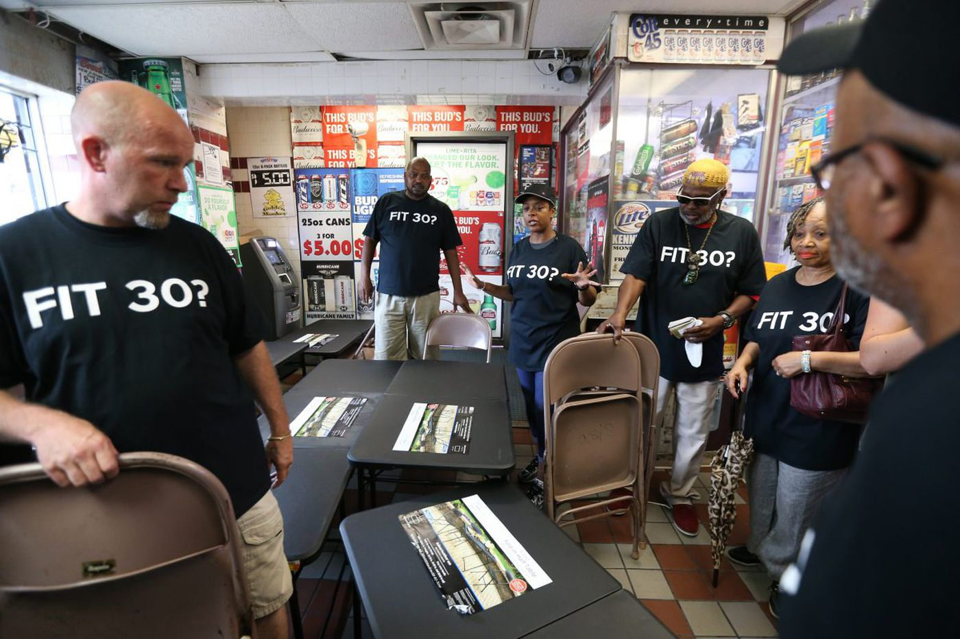 Councilwoman Bass holds sit-ins at stop-and-go stores