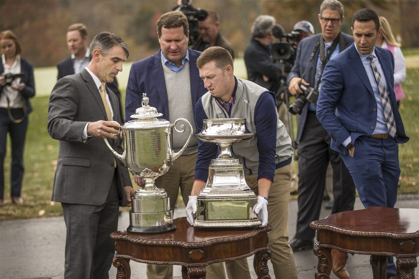 Aronimink makes it official: Two golf majors coming to Philadelphia