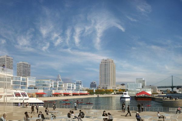Penn's Landing sites up for development, with plans for apartments, shops