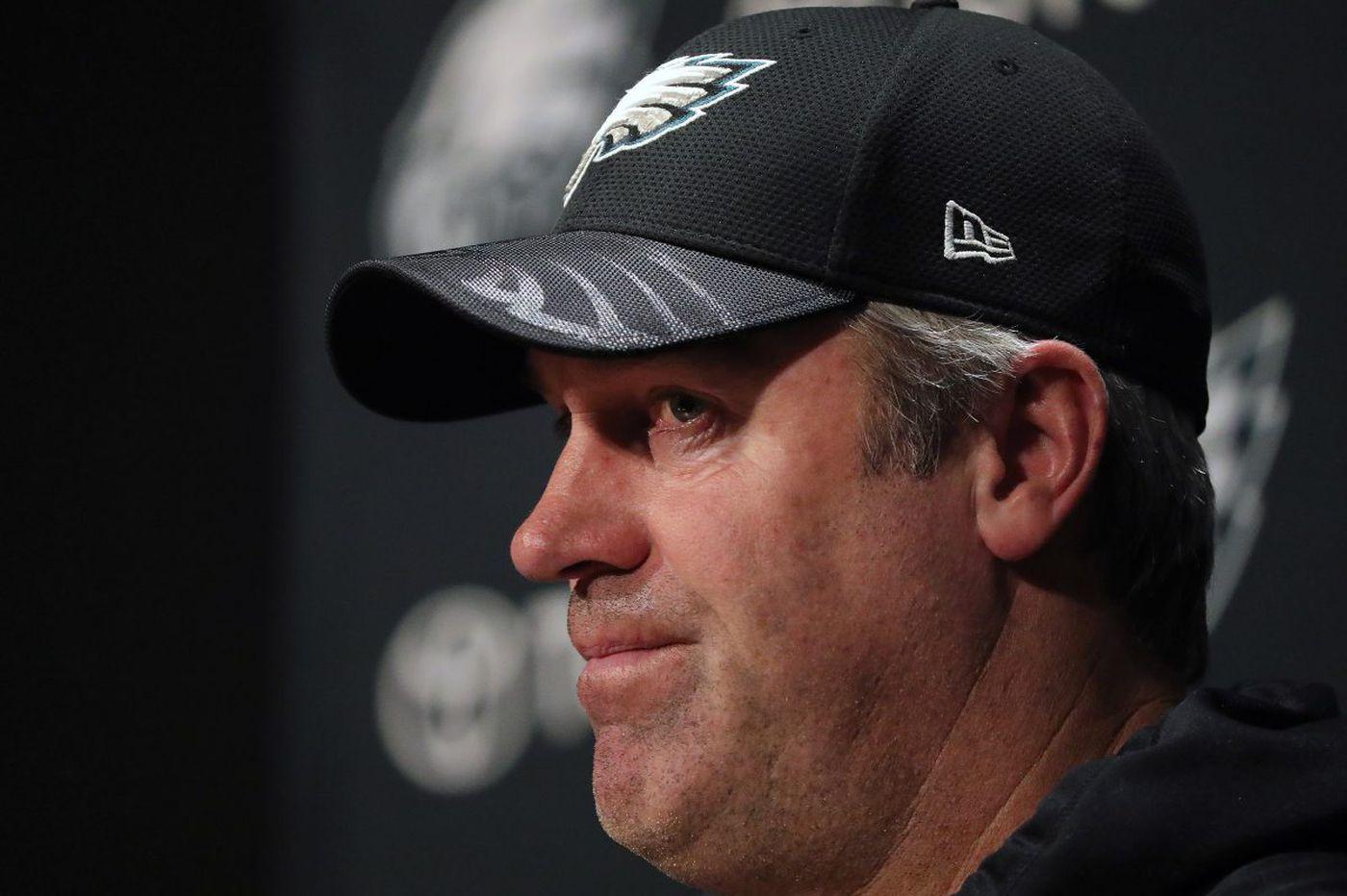 Live video: Eagles coach Doug Pederson's 10:30 a.m. press conference