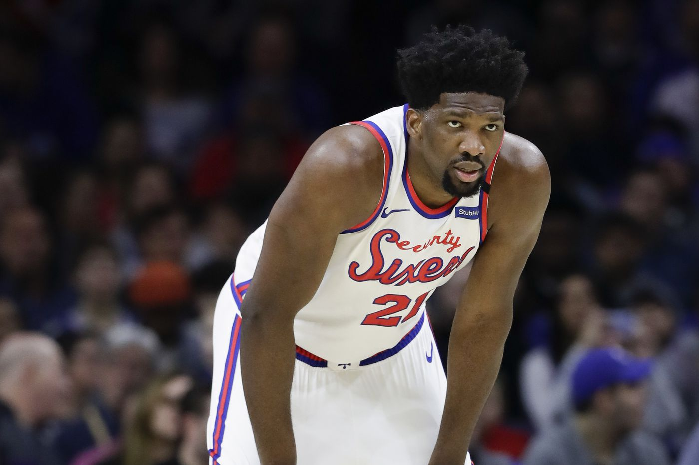 Sixers' Joel Embiid: 'I believe I can carry the team'