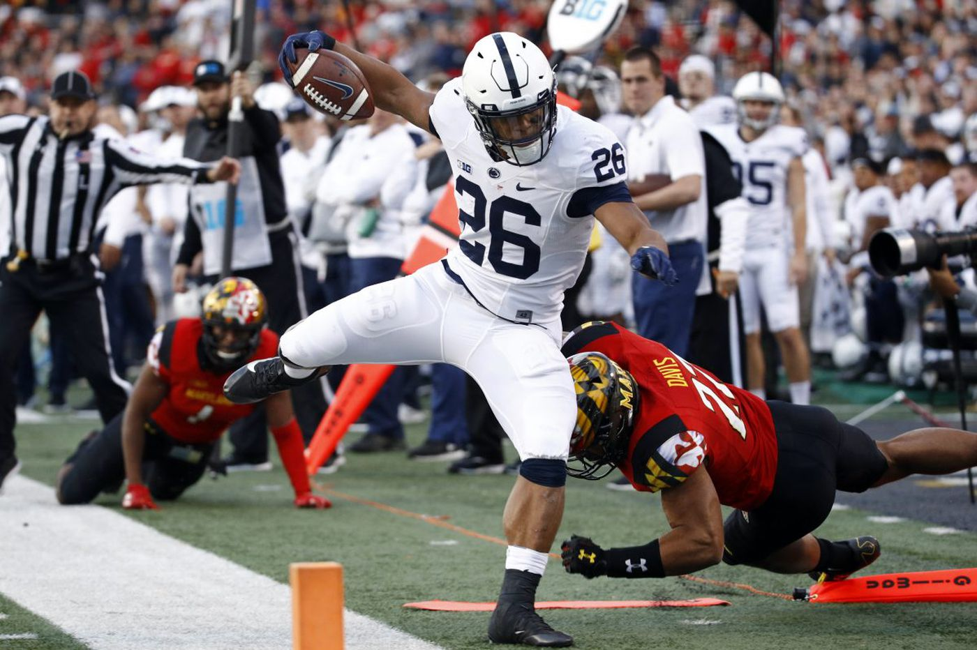 Penn State uses quick start to rout Maryland