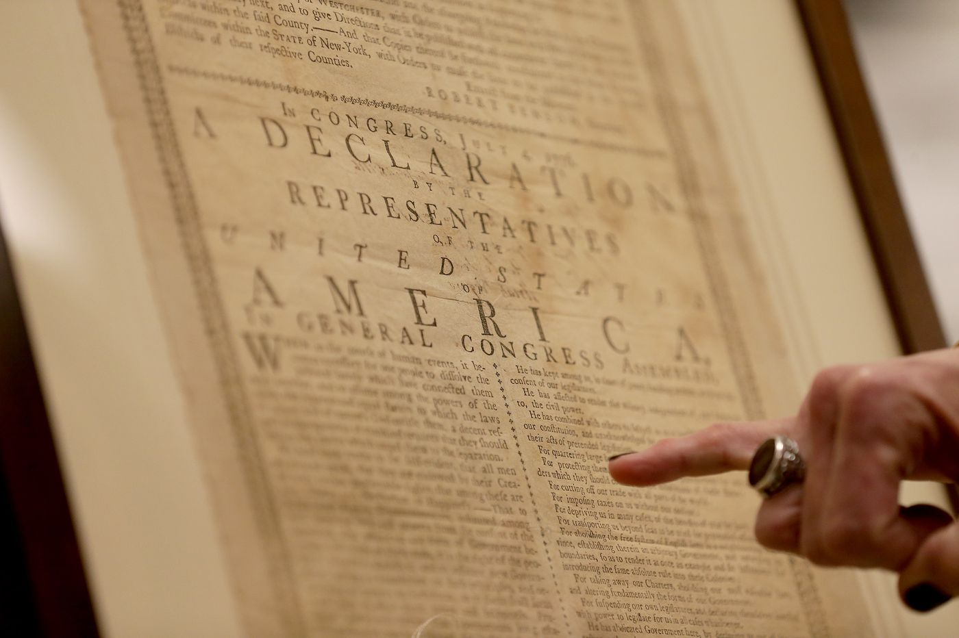 Museum of the American Revolution will show off a version of the Declaration of Independence that hasn't been seen publicly for a century