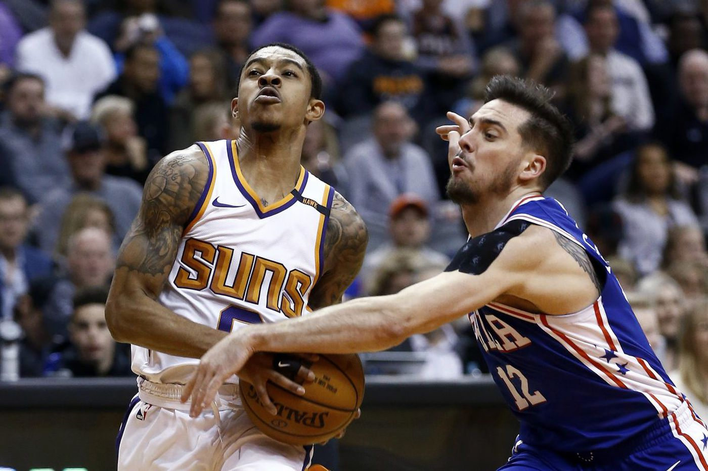 Sixers 123, Suns 110: Dario Saric and Ben Simmons aggressively lead, and other quick observations