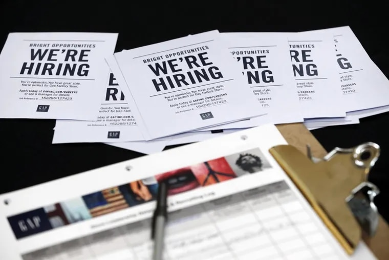 The clearest evidence of the current economy's strength is in the job market, an impressive and consistent 2 million jobs and more created each year.  This October 2015 photo reflected hiring efforts at a job fair at Dolphin Mall in Miami.