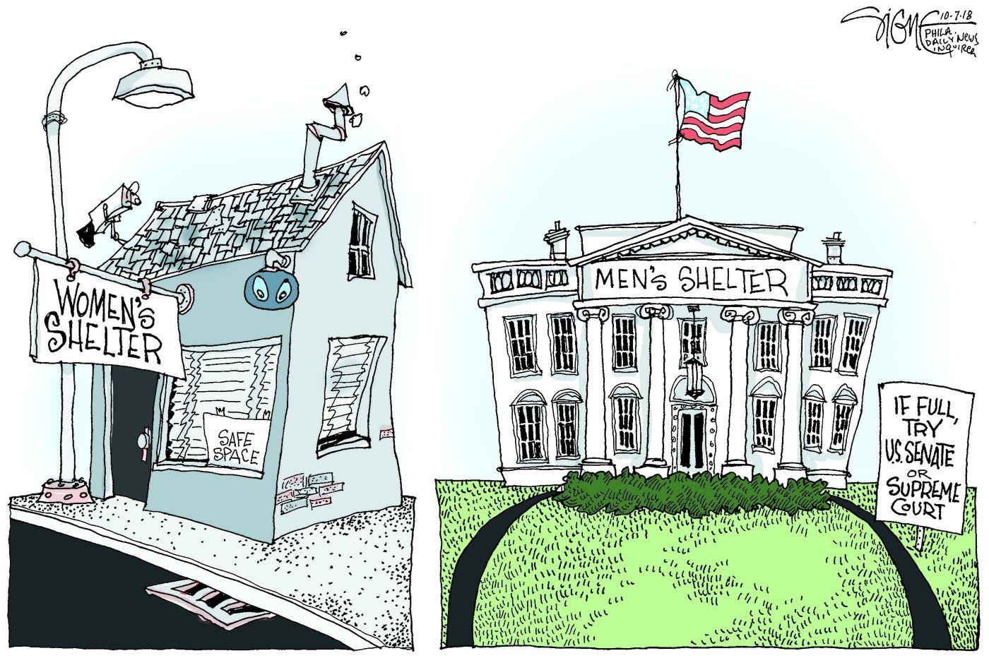 Daily Signe Cartoon 10/07/18