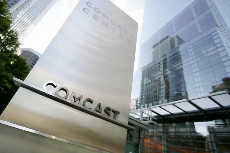 The Comcast Center.