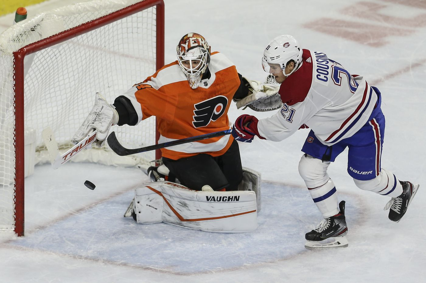 Flyers goaltender Alex Lyon relishing his latest chance in the NHL