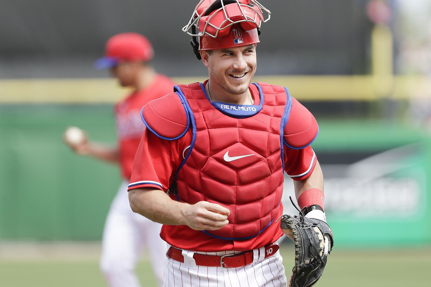 J.T. Realmuto's contract talks on hold as Phillies order exodus from spring training facility