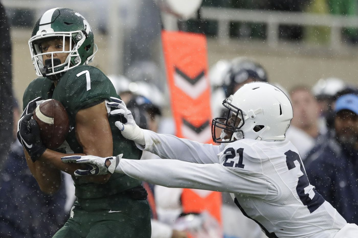 Amani Oruwariye on track to be first Penn State cornerback drafted in first round