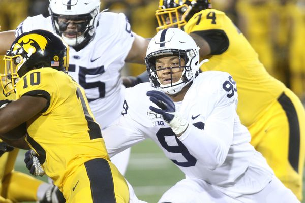 Yetur Gross-Matos to leave Penn State for NFL draft, will play in bowl game