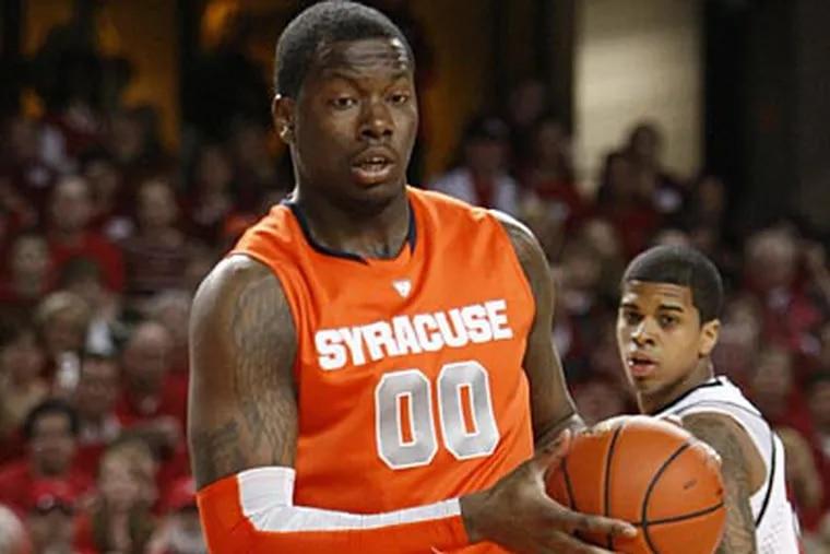 Rick Jackson could be a defensive stud for an NBA team. (Ed Reinke/AP)