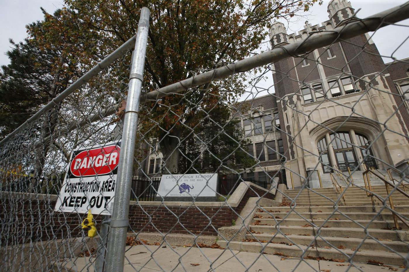 With excavators ready, state board won't consider historic-site status for Camden High School