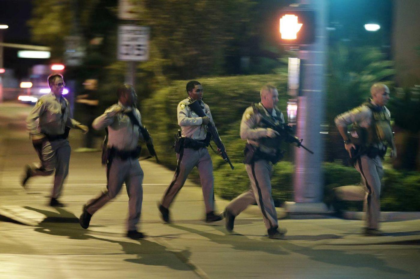 Philadelphians caught in terror in Las Vegas