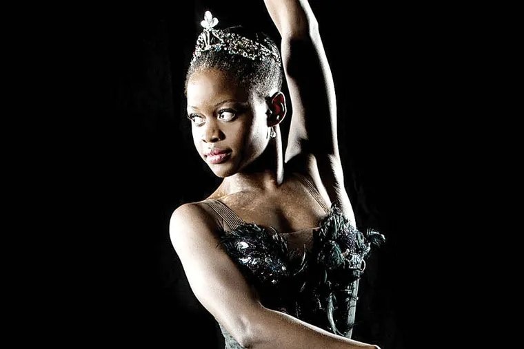 Michaela DePrince appears with the Dance Theatre of Harlem this weekend at the Annenberg Center.