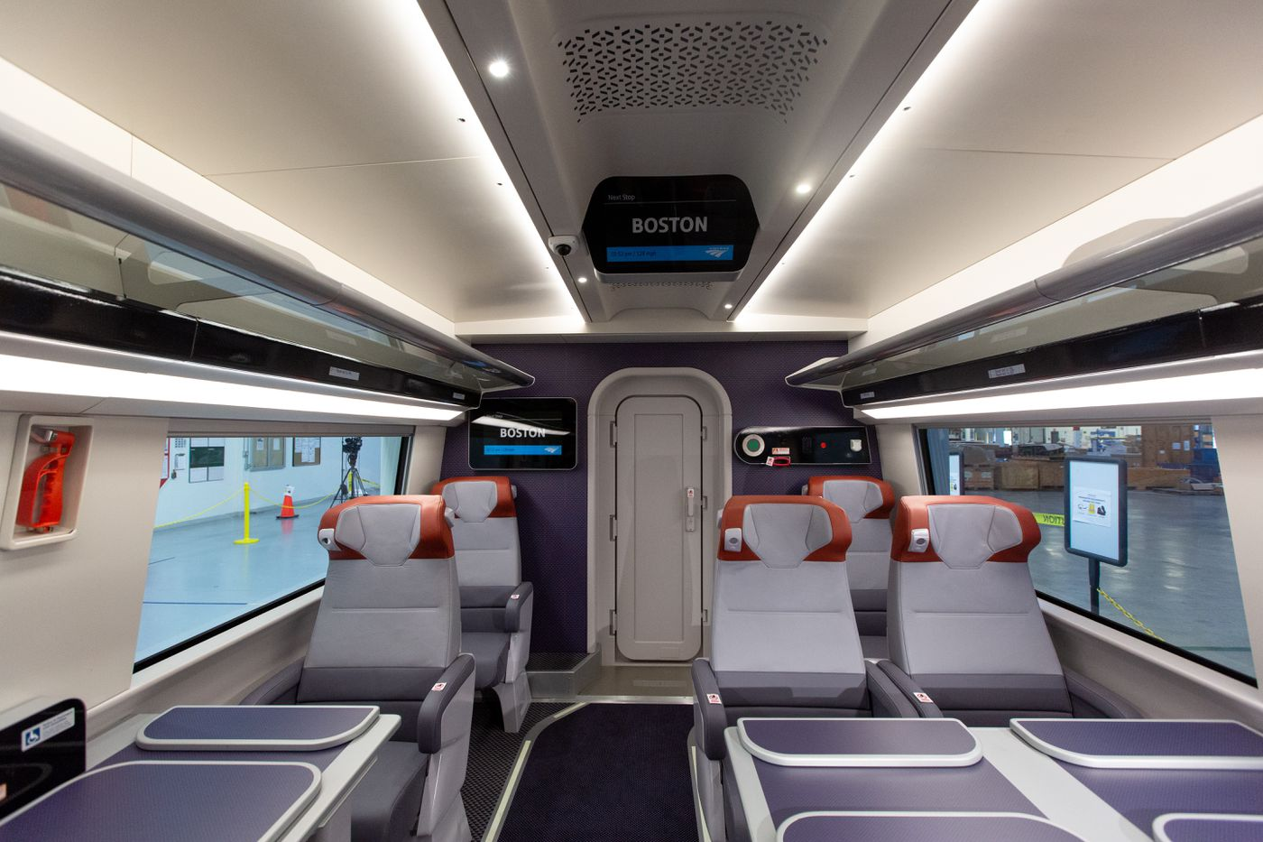 Take a peek at Amtrak's posh new Acela cars