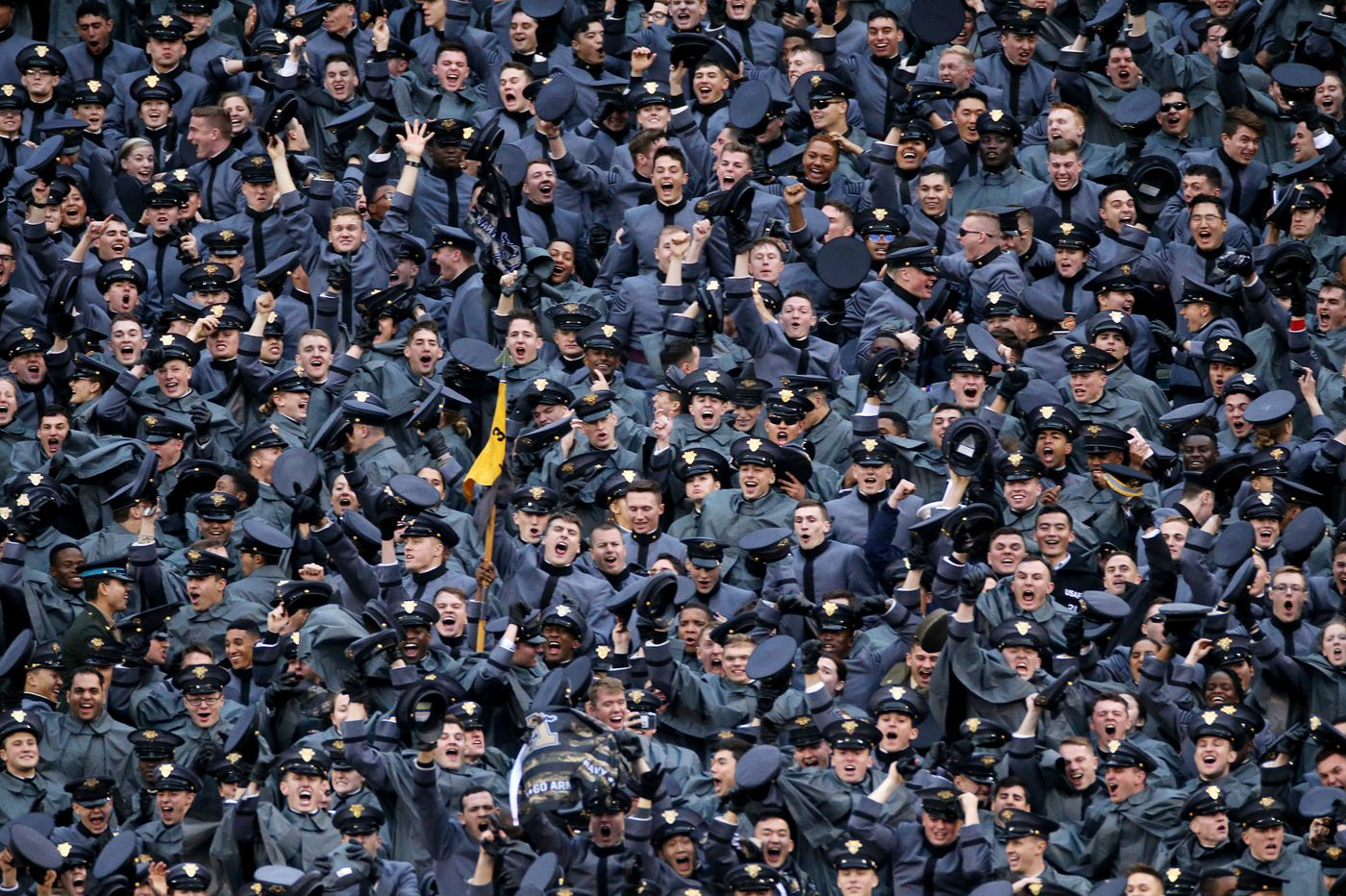West Point investigates cadets' hand symbol with possible links to white power at Army-Navy 'College GameDay' show