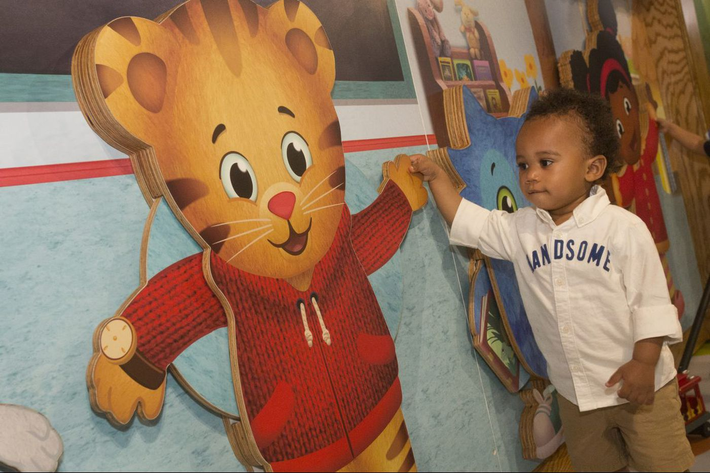 Daniel Tiger new to the Please Touch neighborhood