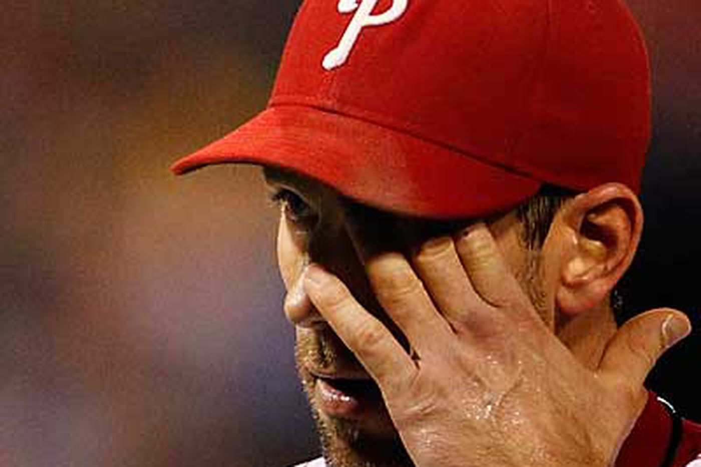 Phillies drop two, Pence injured